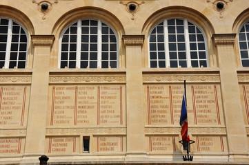 París, Biblioteca de Santa Genoveva, Labrouste, siglo XIX