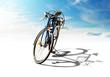 Bike with shadow