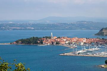 Izola, old town of Istrian Peninsula
