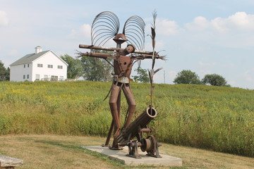 scarecrow of peace