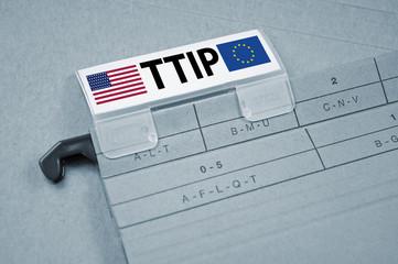 Ordner mit TTIP