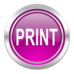 print violet icon