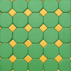 colorful bricks floor background