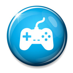 Joystick sign icon. Video game symbol