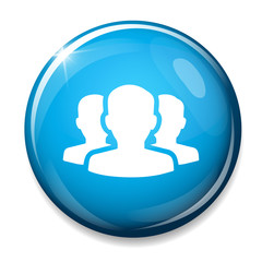 Group of people sign icon. Share symbol