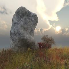 Rock on a headland