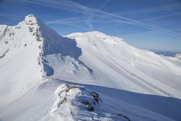 Alpen Schnee Gebirge