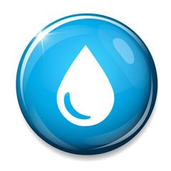 Water drop icon. Tear symbol.