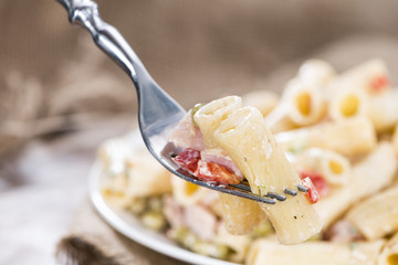 Pasta Salad with ham