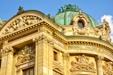 Ópera Garnier, París, Francia, Napoleón III