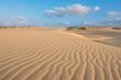 Zdjęcia na płótnie, fototapety, obrazy :  Waves on sand dunes  in Chaves beach Praia de Chaves in Boavist