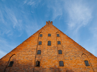Large brick gable of Gdansk Little Mill