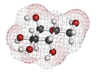 Galactose sugar molecule. Present in milk and dairy products.