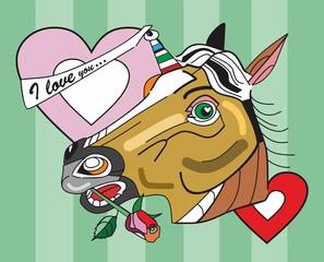 Unicorn says I love you