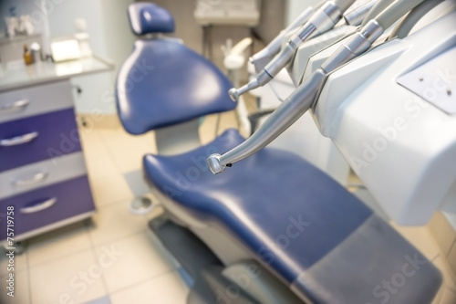 Dental equipment with chair - 75719758