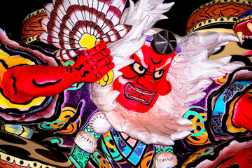 Tengu of Nebuta, the traditional Japanese festival