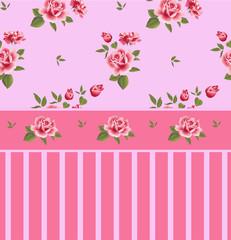 Beautiful seamless floral pattern, flower vector illustration.