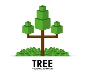 pixel tree design