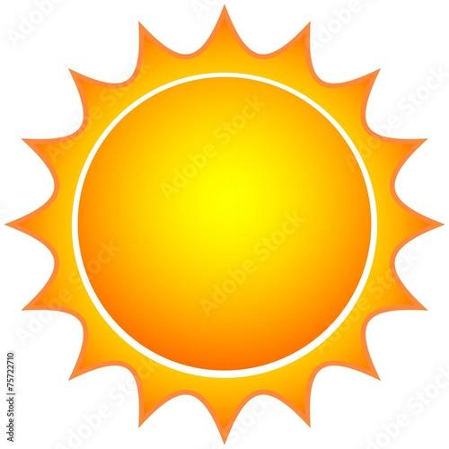 Zdjęcia na płótnie, fototapety, obrazy : Sun Icon