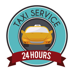 Taxi design, vector illustration.