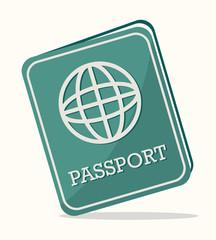 passport,design, vector illustration.