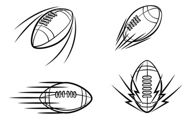 Football Symbol Set Collection