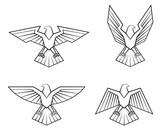 красива¤ птица феникс вектор
