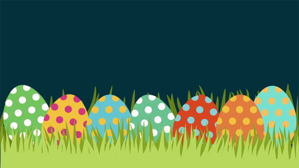 Easter Background, Video Animation, HD 1080