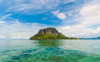 Poda island in Krabi Thailand