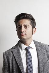 Businessman wearing grey jacket 10