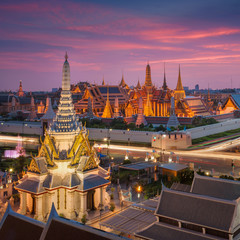 Temple of the Emerald Buddha in Bangkok, Thailand