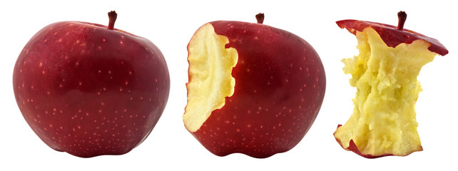 Three phases of apple