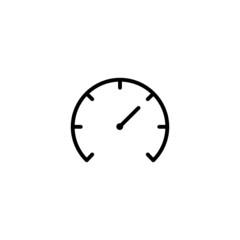 Dashboard Trendy Thin Line Icon