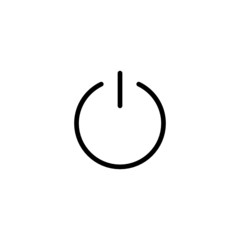Power Trendy Thin Line Icon