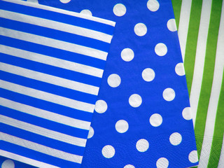 Jumbo Polka Dot and Diagonal Stripes Patterns