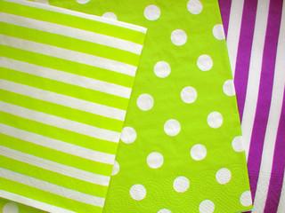 Jumbo Polka Dot and Diagonal Stripes Patterns