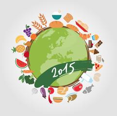 2015, cibo, salute