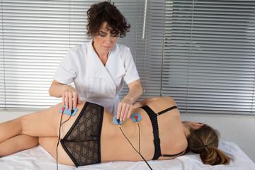 Stimulation et guérison par électrodes
