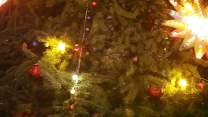 Rotating Christmas tree show