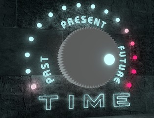 time adjust regulator from past to future