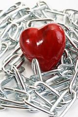 Herz in Ketten, Symbolbild