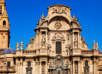 Cathedral  of Saint Maria in Murcia