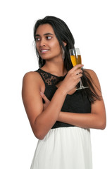 Woman Champagne