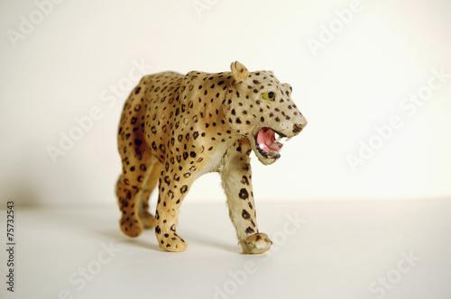 Deurstickers Luipaard Spielzeug Leopard