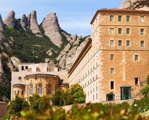 Santa Maria de Montserrat monastery in Pyrenees