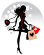 Valentine's shopping