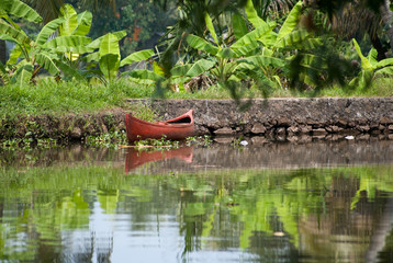 Backwaters du Kérala