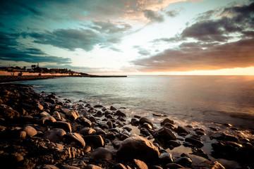 Palm-Mar beach.