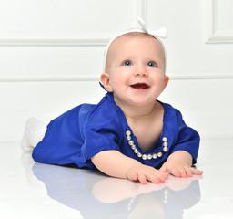 Infant child baby toddler sitting crawling happy smiling