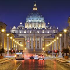 St. Peter, Via della Conciliazione, Rome